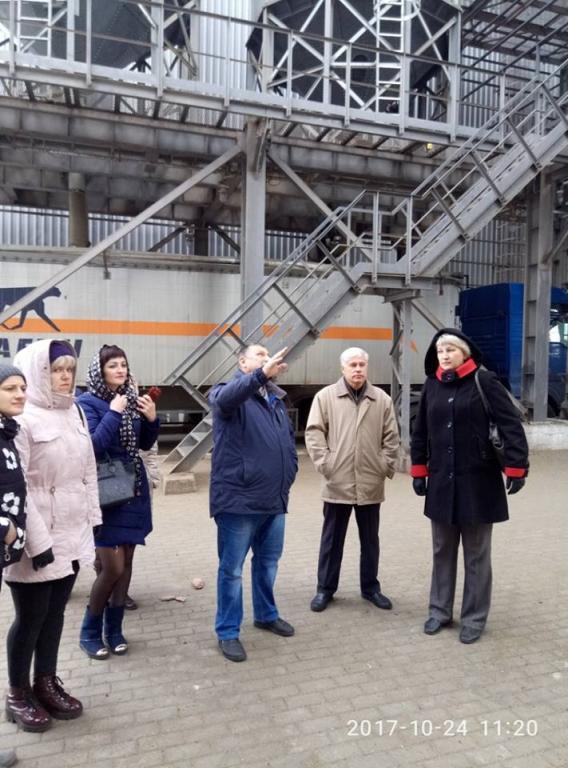 Шосткинский элеватор удивил гостей масштабами и технологичностью